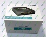 HDMI Split 1x2 Full 3D 2port HDMI  V1.4 + Блок питания 5 V
