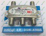 DiSEqC 4x1 Pauxis DSW-4166s