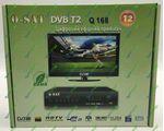 Q-SAT Q168 цифровой эфирный DVB-T2 ресивер