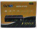 SIMAX HDTR 871F2 PLASTIK цифровой эфирный DVB-T2 ресивер