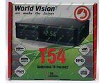 World Vision T54 цифровой эфирный DVB-T2 ресивер