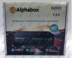 Alphabox T23 цифровой эфирный DVB-T2 ресивер