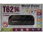 World Vision T62M цифровой эфирный DVB-T2 ресивер