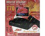 World Vision T70 цифровой эфирный DVB-T2 ресивер