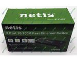 Сетевой SWITCH NETIS ST3108S (8-PORT 10/100Mbps)