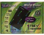 Купить World Vision T129 цифровой эфирный DVB-T2 ресивер. Цена на World Vision T129 цифровой эфирный DVB-T2 ресивер в Киеве, Харькове, Одессе, Днепропетровске, Одессе, Львове: обзор, отзывы, описание, продажа