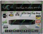 uClan DENIS Н265 IPTV plus IPTV Приставка (mini-Linux, Nationalchip GX6622, 256/128MB)