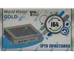 World Vision i64 IPTV Приставка (mini-Linux, Availink 1506T (Sunplus), 64/4MB)