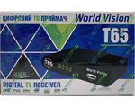 World Vision T65 цифровой эфирный DVB-T2 ресивер