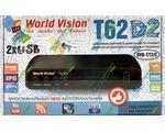 World Vision T62D2 цифровой эфирный DVB-T2 ресивер
