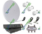 Комплект Xtra TV Box (SRT 7601) на 4 спутника