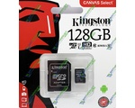 Карта памяти microSDHC KINGSTON 80R 128Gb Class 10