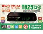 Купить World Vision T625 D3 цифровой эфирный DVB-T2 ресивер. Цена на World Vision T625 D3 цифровой эфирный DVB-T2 ресивер в Киеве, Харькове, Одессе, Днепропетровске, Одессе, Львове: обзор, отзывы, описание, продажа