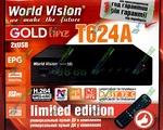 World Vision T624A цифровой эфирный DVB-T2 ресивер