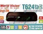 Купить World Vision T624 D3 цифровой эфирный DVB-T2 ресивер. Цена на World Vision T624 D3 цифровой эфирный DVB-T2 ресивер в Киеве, Харькове, Одессе, Днепропетровске, Одессе, Львове: обзор, отзывы, описание, продажа
