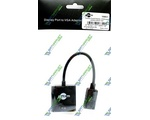 Конвертер DISPLAYPORT(MALE) - VGA(FEMALE) (16851)