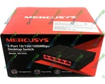 Сетевой SWITCH Mercusys MS105G (5-PORT Gigabit Ethernet Switch)