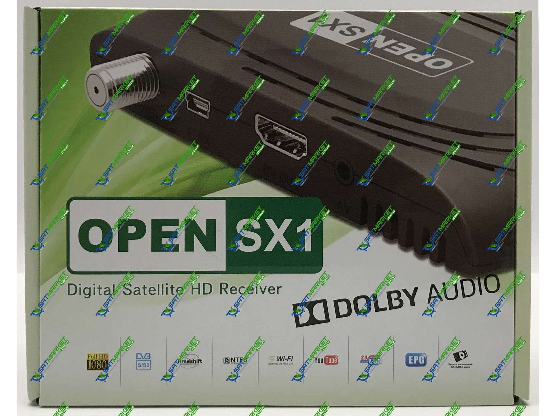 Купить Openbox SX1 HD DOLBY AUDIO  Цена на Openbox SX1 HD