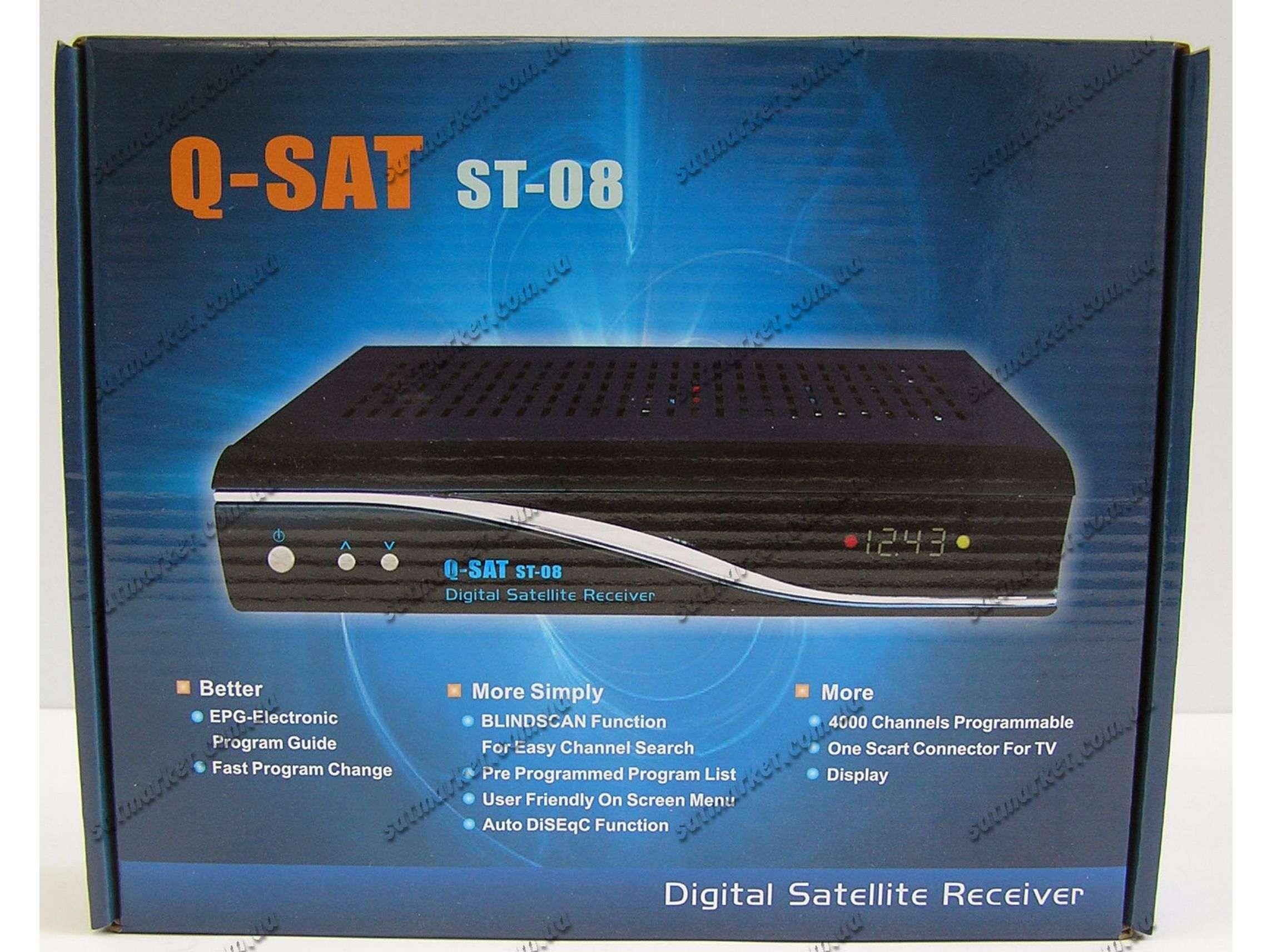 Купить Q-SAT ST-08  Цена на Q-SAT ST-08 в Киеве, Харькове
