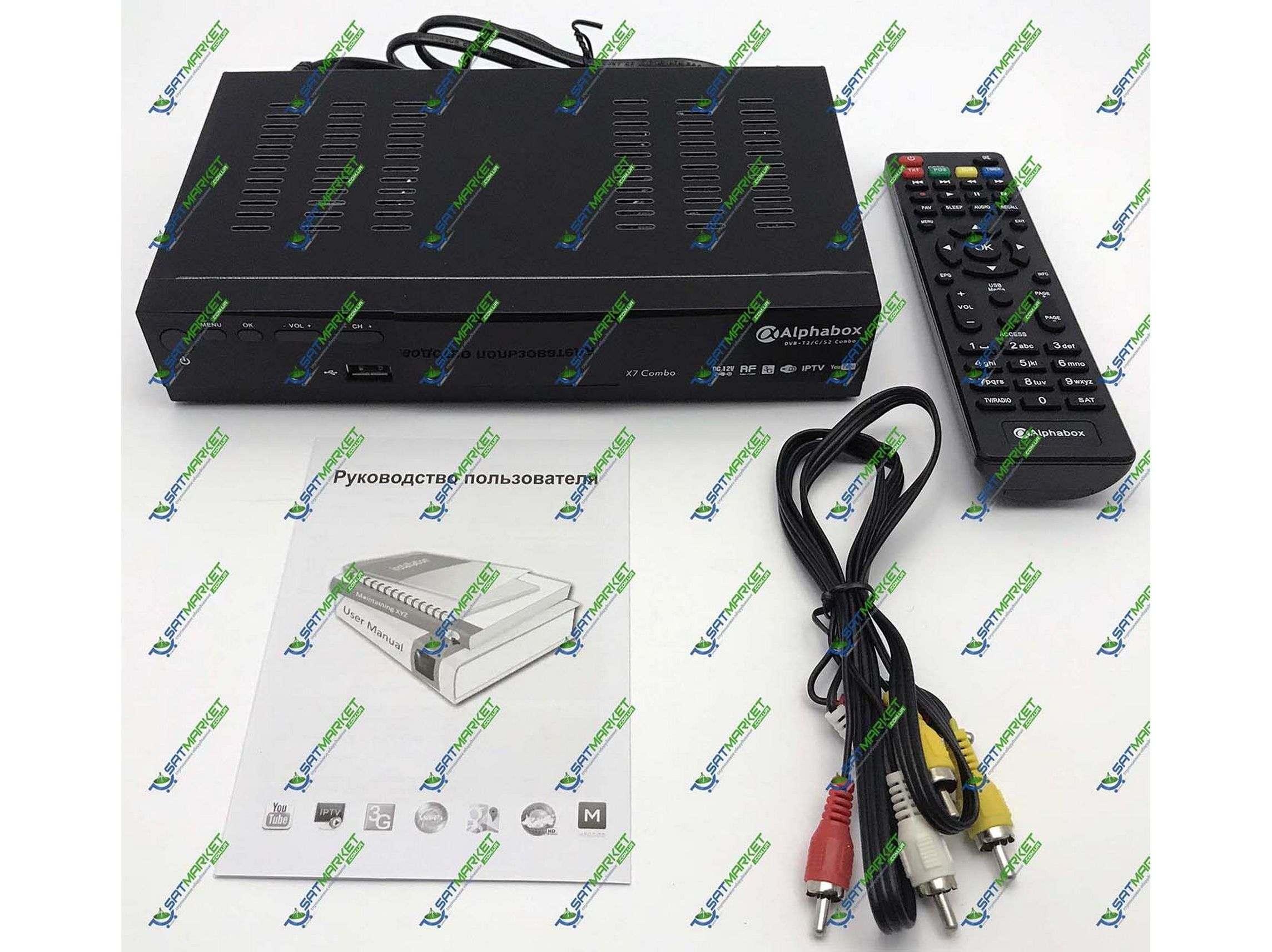 Купить Alphabox X7 Combo  Цена на Alphabox X7 Combo в Киеве